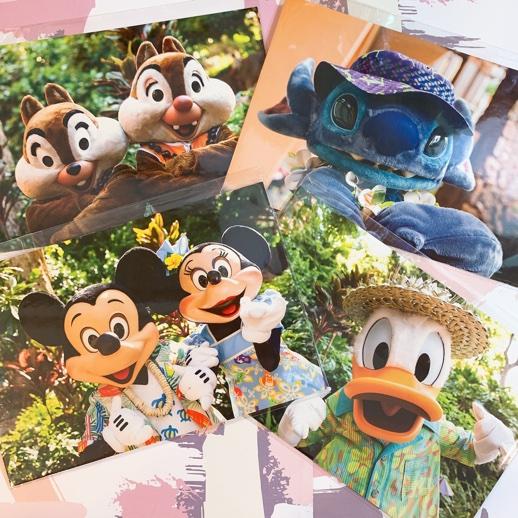ディズニーキャラクターポストカード
