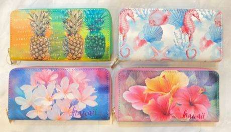ハワイアン長財布