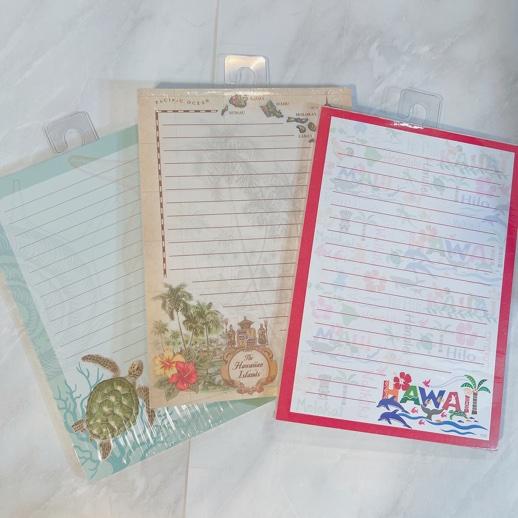 ハワイアンメモ帳