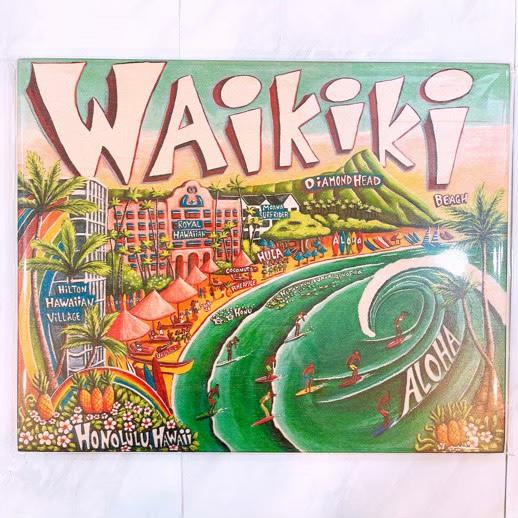 waikikiミッシェルウッドサイン