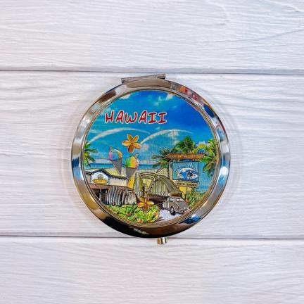 ハワイアンコンパクトミラー
