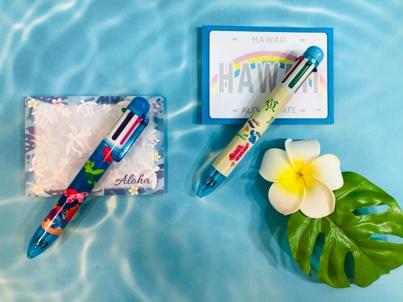 HAWAII直輸入6色ボールペン