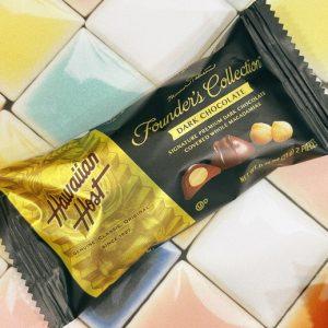 ハワイアンホーストマカダミアダークチョコレート